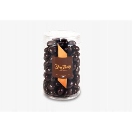 Montage en chocolat Bonhomme de neige