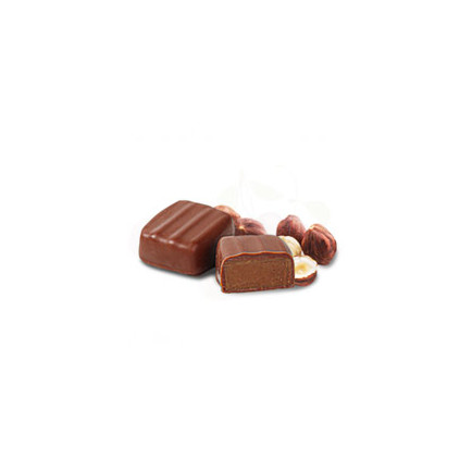 Chocolat noir pétales de violette