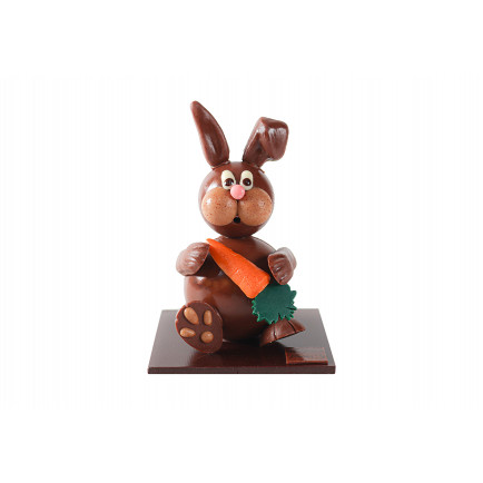 Chocolat marbré Lait - Blanc noisettes