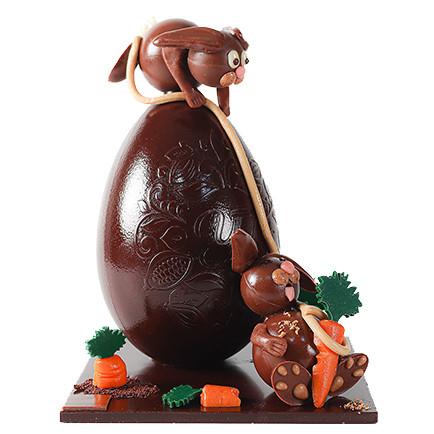 Chocolat noir Pétales de rose