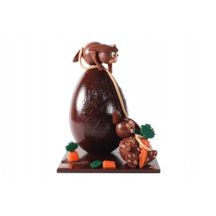 """Chocolat au lait """"Tarte Grand-Mère"""""""