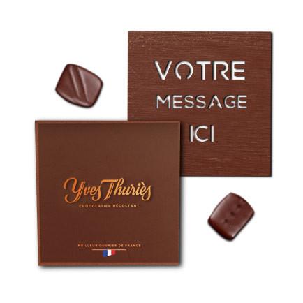 Commis chocolat noir ou au lait
