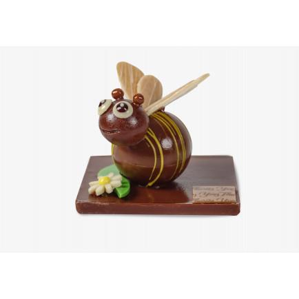 Carré de l'été noir citron jaune