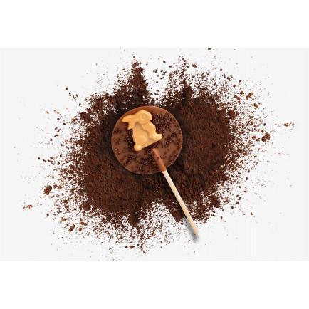 Grains de café chocolatés