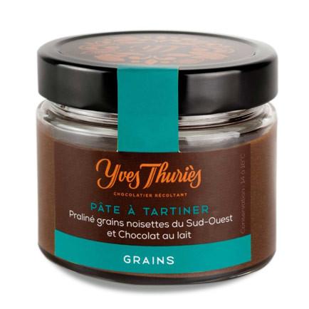 Plaque mendiant chocolat Noir