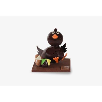 Chocolat blanc caramélisé